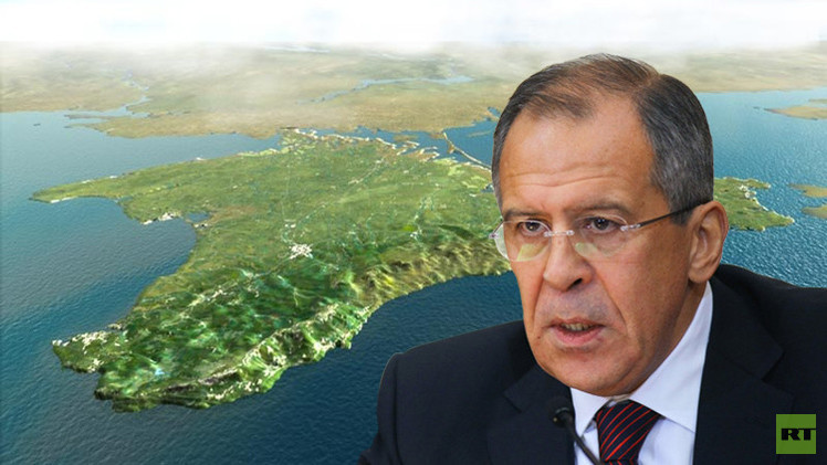 لافروف: القرم جزء من روسيا ولا مفاوضات حول ذلك مع أحد
