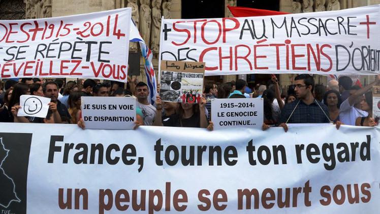 فرنسا تؤكد استعدادها لاستضافة اللاجئين المسيحيين من العراق