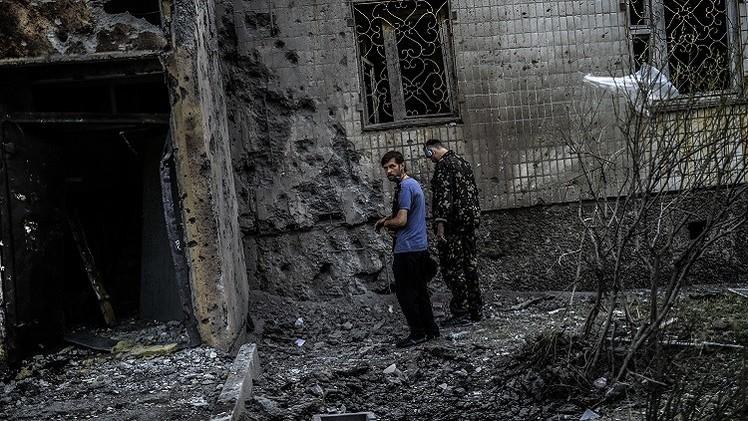 استخبارات أمريكية: كييف تقصف جنوب شرق أوكرانيا بصواريخ بالستية