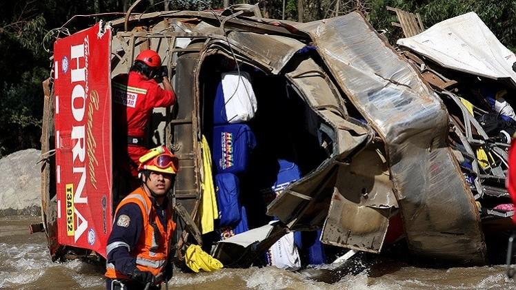 18 قتيلا في حادث حافلة في البيرو