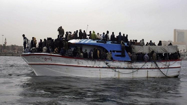 غرق 180 مهاجرا غير شرعي في رحلة من ليبيا إلى صقلية