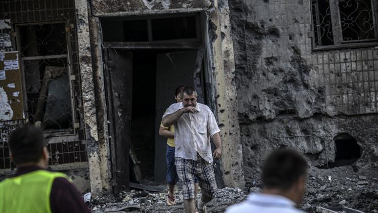 19 قتيلا مع تواصل المعارك بين الجيش وقوات الدفاع في دونيتسك
