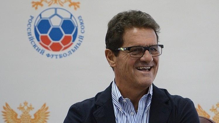 كابيلو يعتزم البقاء في منصب مدرب المنتخب الروسي حتى مونديال 2018