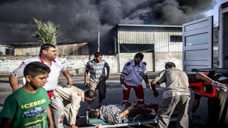 كتائب القسام :  ردا على مجزرتي جباليا والشجاعية.. قصف تل أبيب بـ 4 صواريخ M75