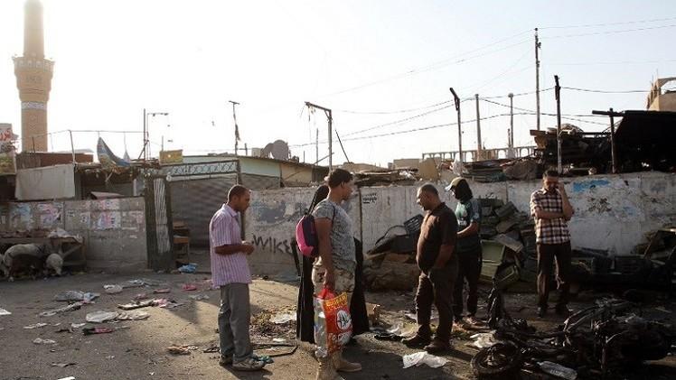 مقتل 15 شخصا بتفجيرين انتحاريين في بغداد