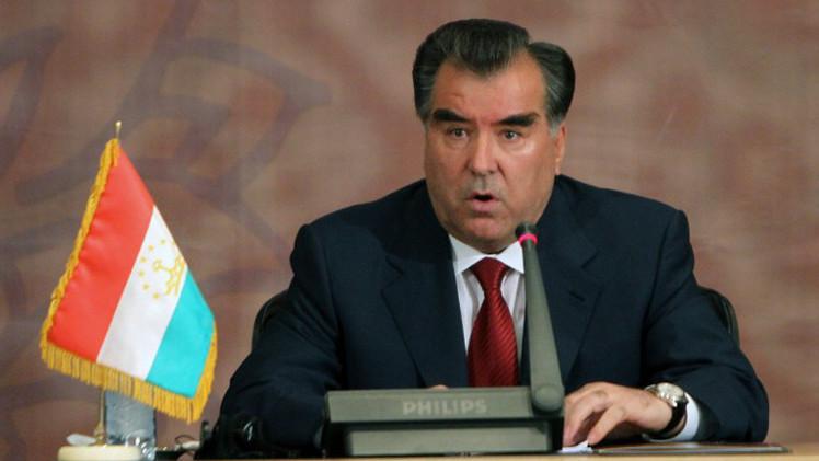 رئيس طاجيكستان: