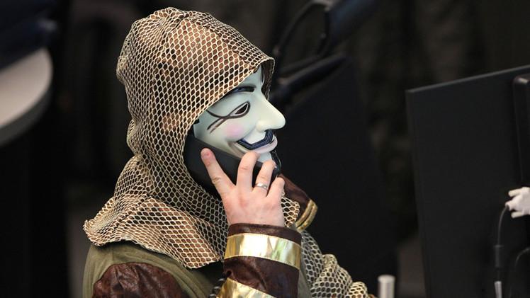 مجموعة هاكرز Anonymous تغلق الموقع الإلكتروني للموساد انتقاما لضحايا غزة