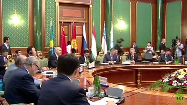 منظمة  شنغهاي للتعاون تدعو لتسوية سياسية للأزمة السورية