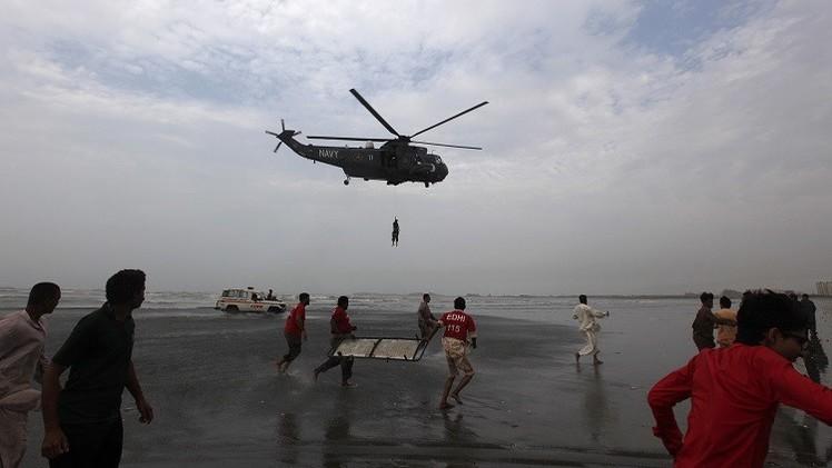 مقتل أكثر من 20 شخصا غرقا قبالة ساحل كراتشي
