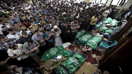 ضحايا القصف الإسرائيلي