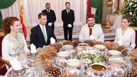 مأدبة إفطار في القصر الملكي
