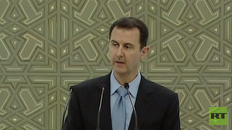 بث مباشر.. خطاب الرئيس السوري بشار الأسد بعد أداء اليمين الدستورية