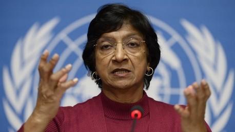 مفوضة حقوق الانسان في الامم المتحدة نافي بيلاي