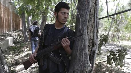 مسلحو المعارضة السورية يطردون