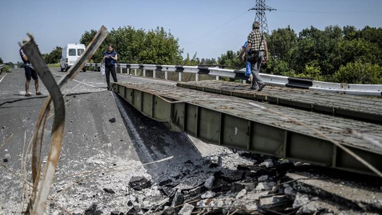 مقتل 6  مدنيين نتيجة المعارك  في شرق أوكرانيا