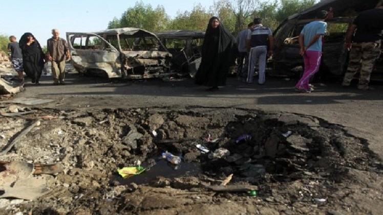 قتلى وجرحى جراء تفجيرات في بغداد