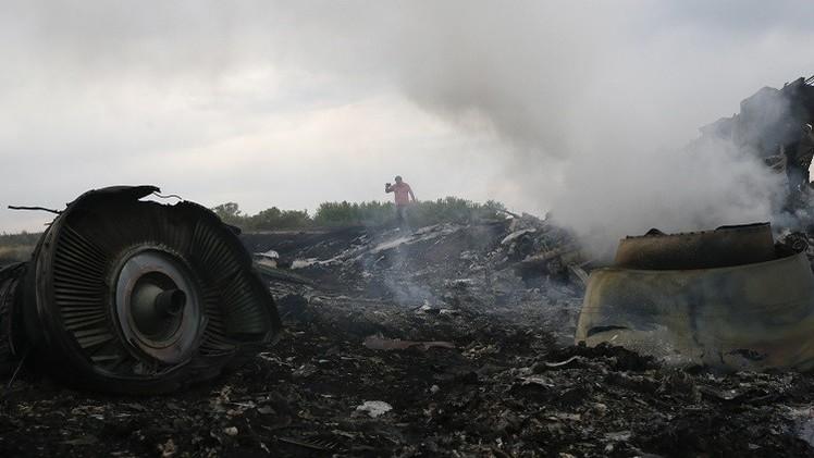 مجلس الأمن الهولندي: الخبراء الدوليون لم يزوروا موقع تحطم الطائرة الماليزية