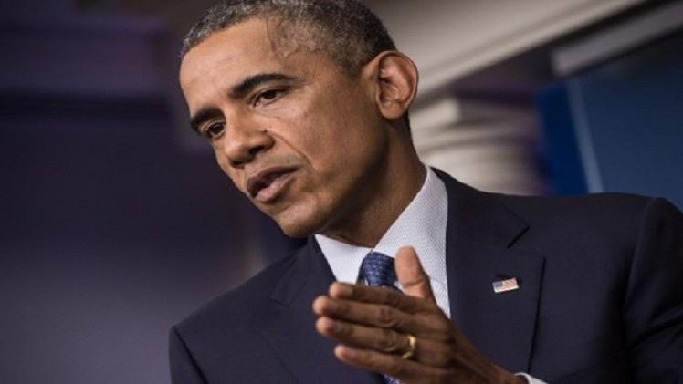 أوباما يعتبر وقف اطلاق النار في غزة صعبا بعد انهيار الهدنة