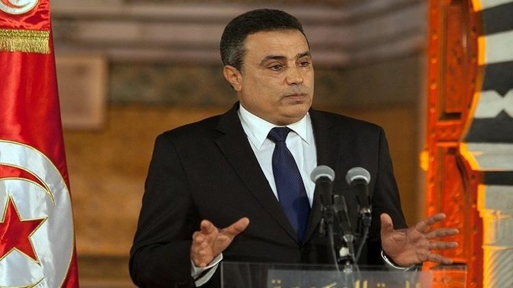 رئيس الحكومة التونسية مهدي جمعة