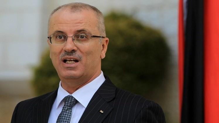 الحمد الله يطالب المجتمع الدولي بإلزام إسرائيل بوقف مجازرها في غزة