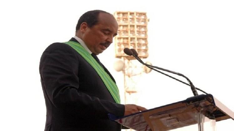 الرئيس الموريتاني يؤدي اليمين الدستورية