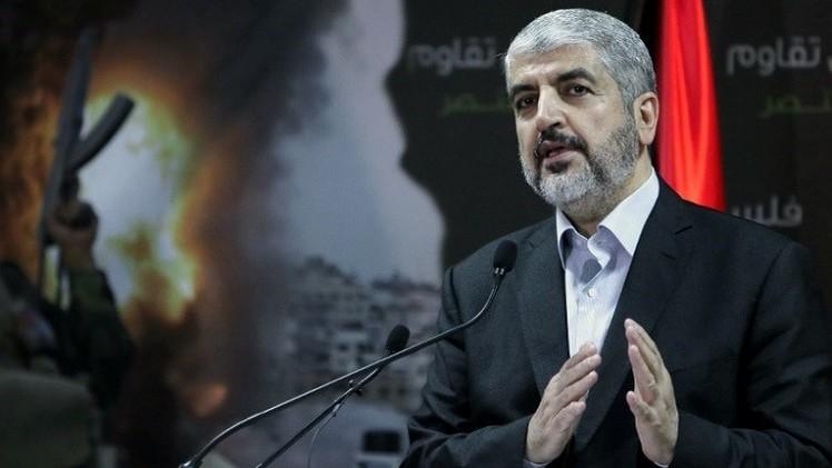 مشعل: حماس لن توافق على هدنة تتضمن وجود قوات إسرائيلية في غزة