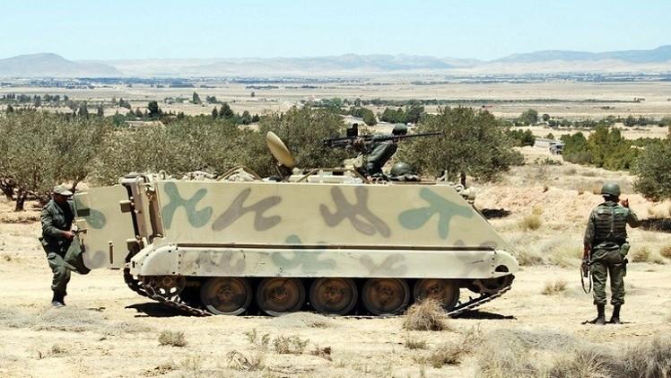 مقتل جندي تونسي في مواجهات مع مسلحين في القصرين