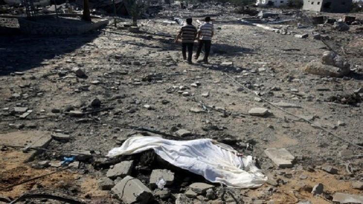 مقتل 53 فلسطينيا على الأقل في اليوم الـ28 من الهجوم الإسرائيلي على غزة