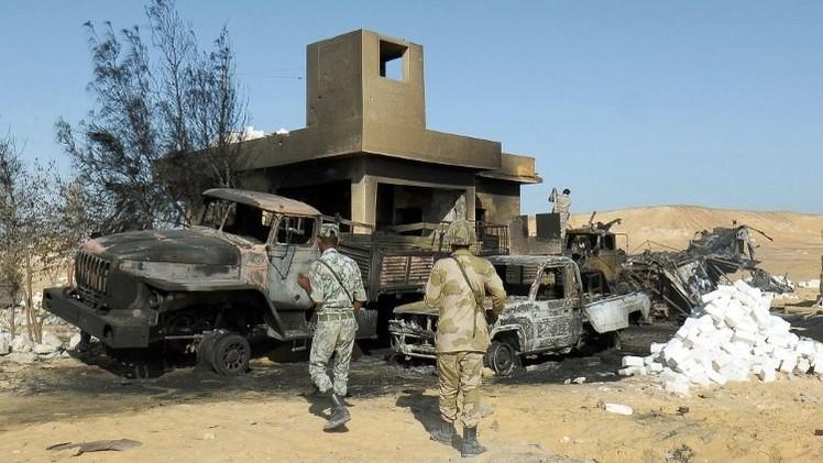 الجيش المصري يعلن عن مقتل 11 إرهابيا وتدمير 3 أنفاق في سيناء