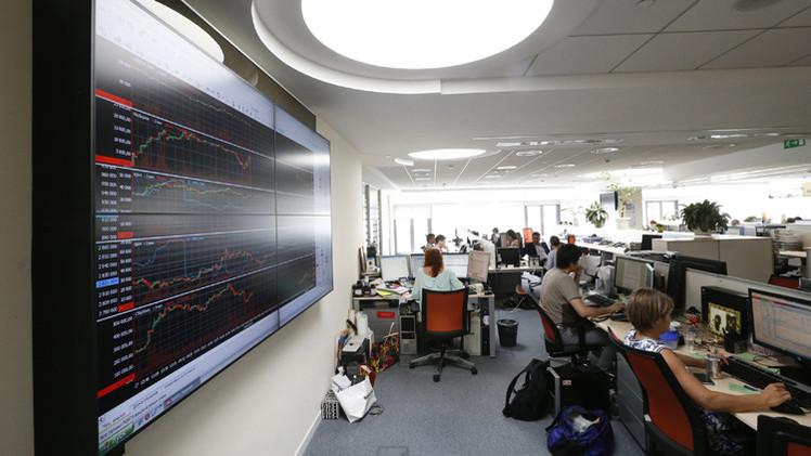 انخفاض مؤشرات البورصة الروسية في بداية تداولات الأسبوع