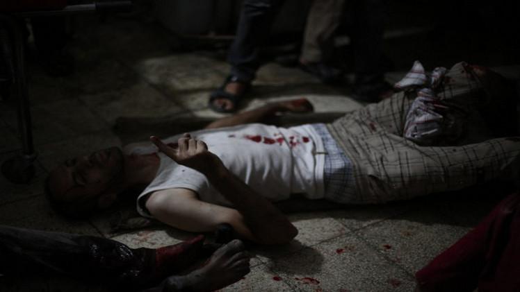 مقتل سبعة اشخاص من عائلة واحدة على يد مجموعة ارهابية في محافظة حماة بسورية