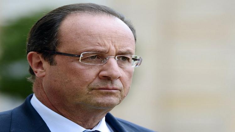 هولاند: يجب علينا التحرك لوقف المجازر في غزة