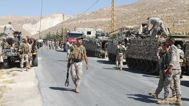 الجيش اللبناني يمنع محتجين من إغلاق الطرقات في طرابلس