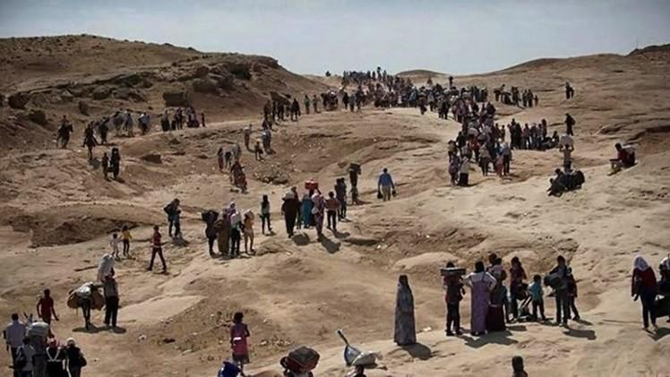 الأمم المتحدة: عشرات الآلاف يفرون من هجوم لتنظيم