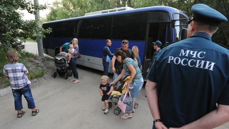 نحو 60 ألف أوكراني يطلبون منحهم صفة لاجئ أو تقديم ملجأ مؤقت في روسيا