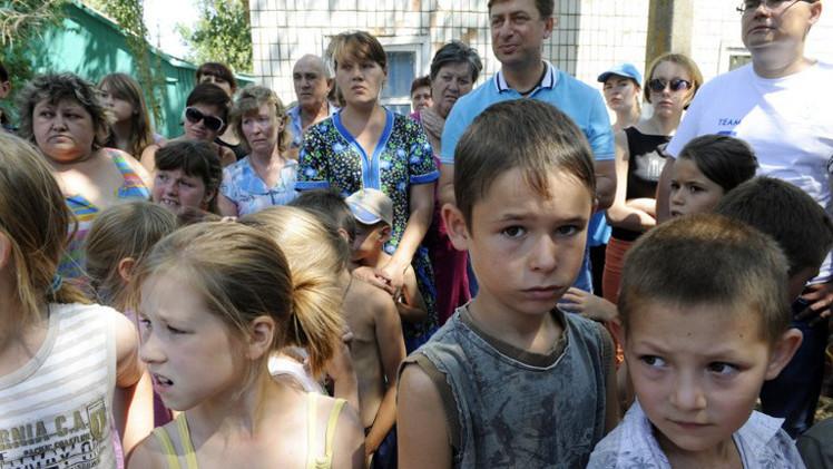 الأمم المتحدة تخشى نزوحا جماعيا لسكان شرق أوكرانيا