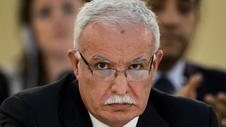 وزير خارجية فلسطين: يجب بذل قصارى الجهد لإحالة اسرائيل إلى الجنائية الدولية