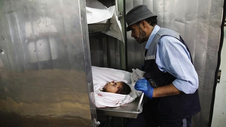 يونيسيف: عدد الضحايا  من الأطفال في غزة بلغ 408