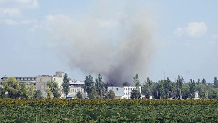 مقاتلو مدينة دونيتسك يعلنون تصديهم لهجوم الجيش الأوكراني