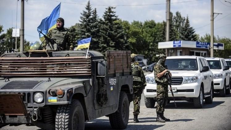 تمديد عمل بعثة منظمة الأمن والتعاون في أوروبا بأوكرانيا إلى مارس 2015