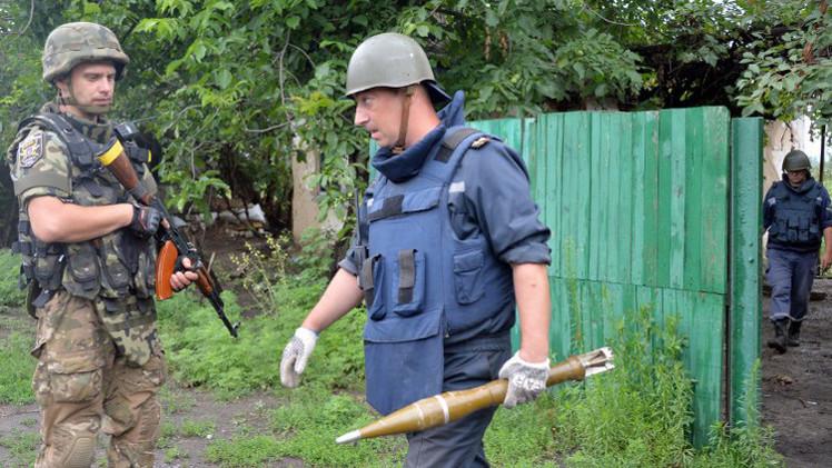 لجنة التحقيق الروسية: لدينا أدلة تثبت استخدام أسلحة محظورة ضد المدنيين بشرق أوكرانيا