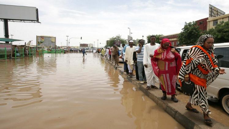 مصرع 39 شخصا جراء الفيضانات في السودان