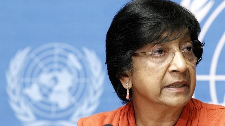 بيلاي: على المحكمة الجنائية الدولية النظر في جرائم غزة