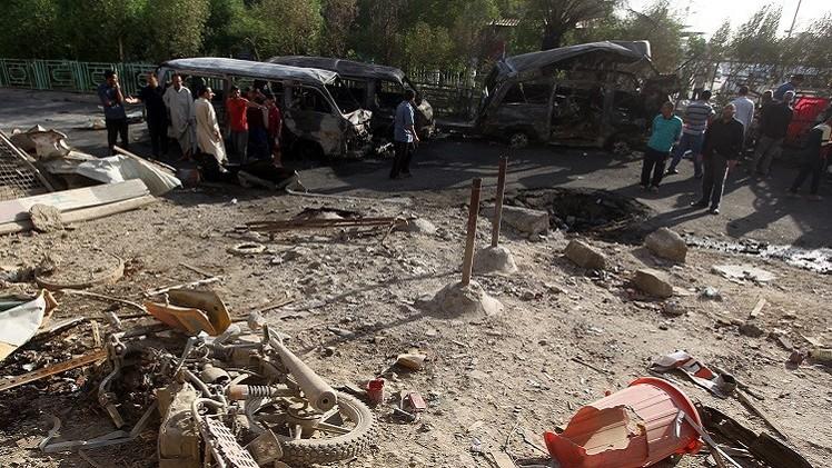 47 قتيلا بانفجارات في بغداد و60 في الموصل بغارة للطيران العراقي