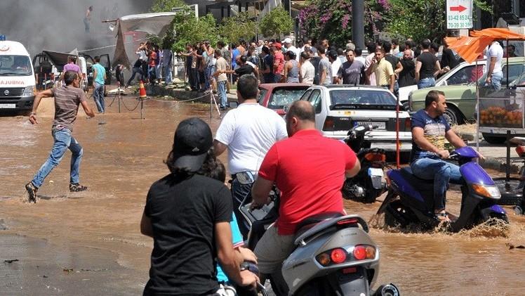 قتيل و7 جرحى بانفجار في طرابلس بلبنان (فيديو)