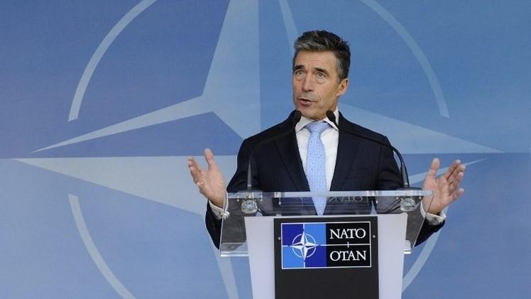 راسموسن يزور كييف لبحث العلاقات بين أوكرانيا وحلف الناتو