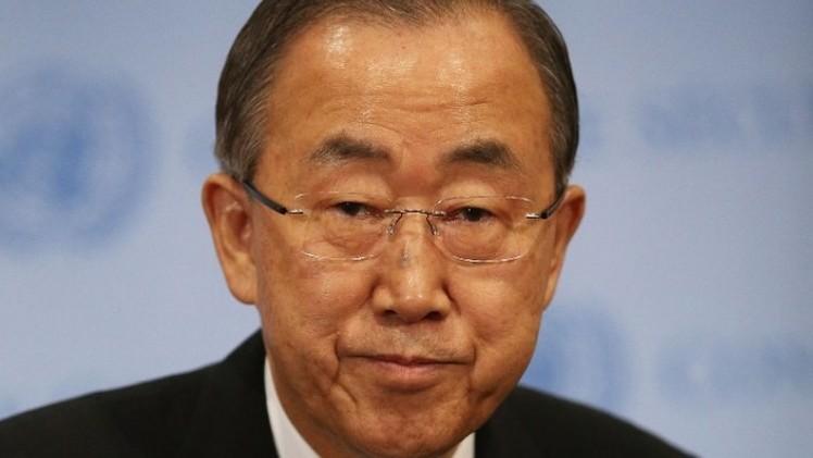 بان كي مون: تكلفة تحقيق الهدنة في غزة كانت باهظة