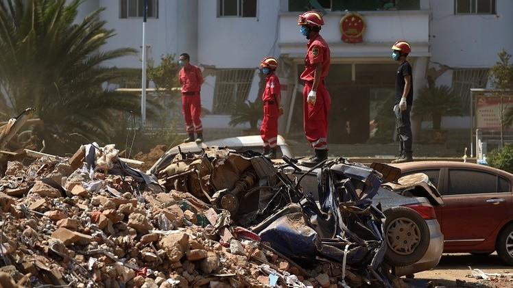 مقتل 615 شخصا في زلزال جنوب غرب الصين