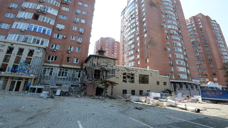 القوات الأوكرانية تستأنف قصف دونيتسك