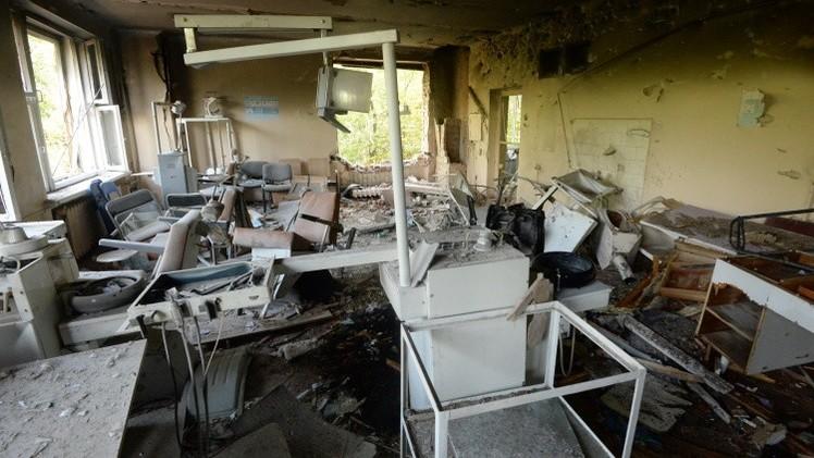 مقتل 4 مدنيين و15 عسكريا نتيجة القتال في شرق أوكرانيا (فيديو)